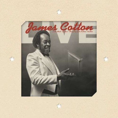 James Cotton<br>Recorded Live At Antone's Night Club<br>CD, RE, RM
